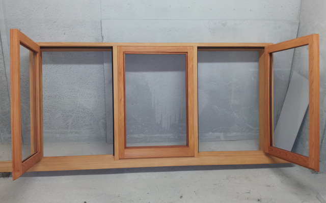 ... joinery needs Cedar Casement Window with Macracarpa frame (middle window Fixed) & Timber Joinery Auckland